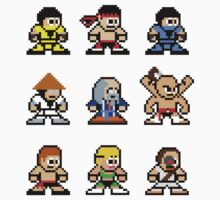 8-bit Mortal Kombat 1 by 8 Bit Hero