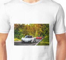McLaren Hypercar Lineup P1, P1 GTR, F1 GTR Long Tail Unisex T-Shirt