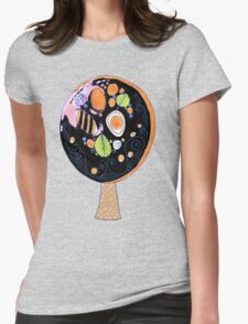 the tree Womens Fitted T-Shirt