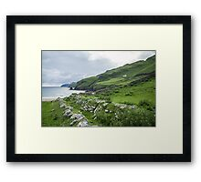 Muckross Coast, Kilcar, Co. Donegal Framed Print