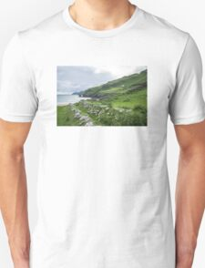 Muckross Coast, Kilcar, Co. Donegal Unisex T-Shirt