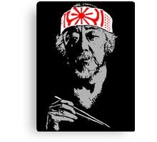 Man who catch fly with chopstick accomplish anything. Canvas Print