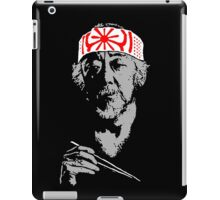 Man who catch fly with chopstick accomplish anything. iPad Case/Skin