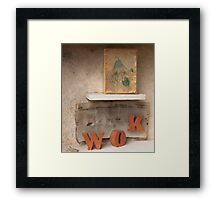 #23: Static Box Framed Print