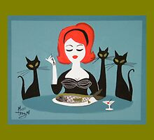 Fishy Dinner by elgatogomez