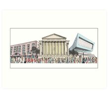 Another Day in Liverpool Art Print