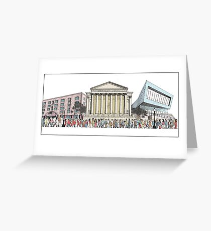 Another Day in Liverpool Greeting Card