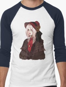 Bloodborne The Doll Men's Baseball ¾ T-Shirt