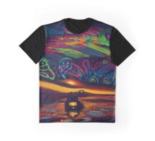 Magic Island Summer Graphic T-Shirt