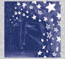 Sky Full Of Stars - With Words Kids Tee