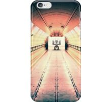 Robot Guarding Tunnel iPhone Case/Skin