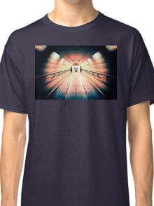 Robot Guarding Tunnel Classic T-Shirt
