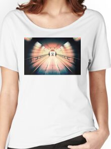 Robot Guarding Tunnel Women's Relaxed Fit T-Shirt