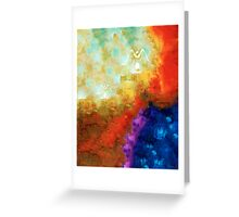 Angels Among Us - Emotive Spiritual Healing Art Greeting Card