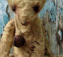 Handmade bears from Teddy Bear Orphans - Tatty Bear Sticker