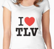 i love Tel Aviv Women's Fitted Scoop T-Shirt