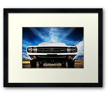 1971 Dodge Challenger Framed Print