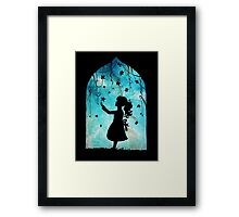 looking to the stars Framed Print