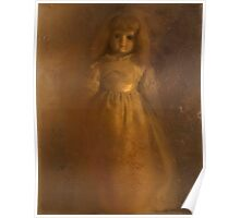 #114: Blue China Doll Poster
