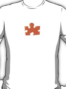 The Orange Puzzle Piece T-Shirt