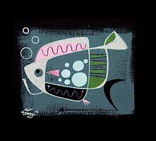 Abstract Fish by elgatogomez