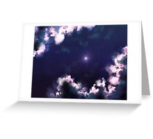 point on the horizon Greeting Card