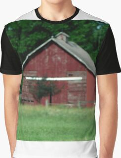 Barn print will compliment any home. Graphic T-Shirt