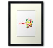 World Cup: Cameroon Framed Print