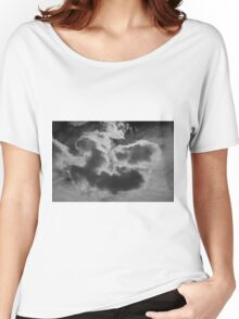 Cloudscape XVII BW Women's Relaxed Fit T-Shirt