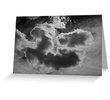 Cloudscape XVII BW Greeting Card