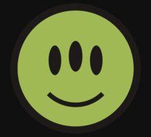 Alien Smiley One Piece - Short Sleeve
