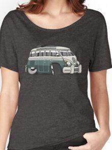 VW T1 23 window cartoon green Women's Relaxed Fit T-Shirt