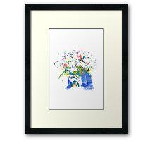 Flowerhead Framed Print