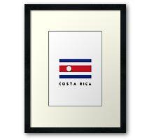 World Cup: Costa Rica Framed Print