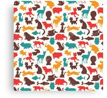 Animal Pattern Canvas Print