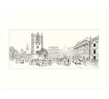 Braunschweig, Lower Saxony, Germany Art Print