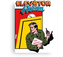 ELEVATOR ACTION TAITO ARCADE Canvas Print