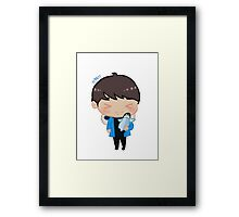 Penguin Hakyeon | VIXX Framed Print