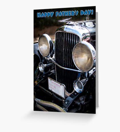It's a Duesy! - Father's Day card Greeting Card