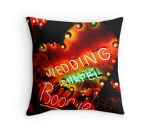 Wedding Chapel Throw Pillow