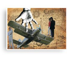 Fly by Me  Canvas Print