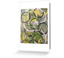 Hoops and Loops ©Cindy Williams Greeting Card