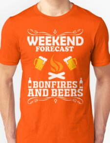 weekend camping bonfires marshmallow get toasted Unisex T-Shirt