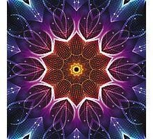 Light Kaleidoscope 02 2014 Photographic Print