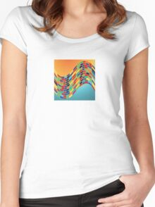 Summer in Barcelona Women's Fitted Scoop T-Shirt