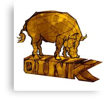 Oink! Canvas Print