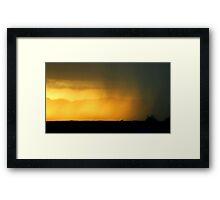 Sun Stroke Framed Print
