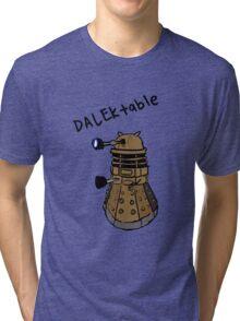 Dalektable dalek Tri-blend T-Shirt
