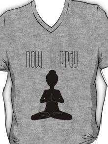 Yoga+pray female T-Shirt