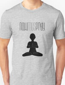 yoga+pray male Unisex T-Shirt